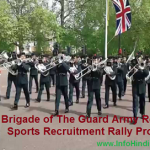 Joinindianarmy Brigade of the Gaurd Relation, Sports Rally Bharti Notification 2020